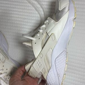 "Nike Shoes - Nike Huaraches ""triple white"""